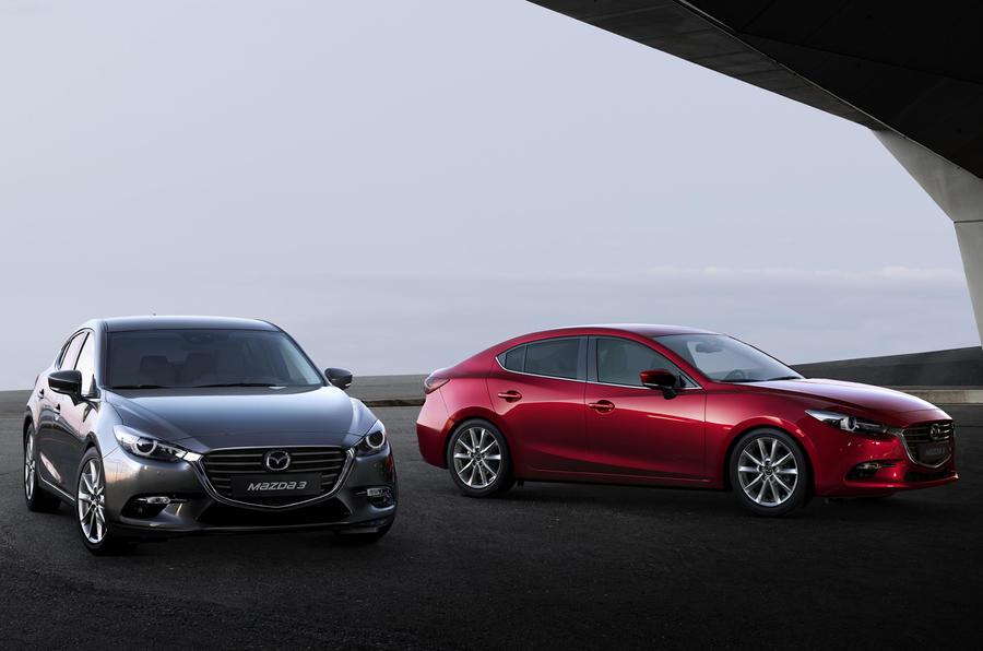 Makyajlı Mazda 3 fotogaleri