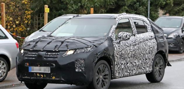 Mitsubishi'nin yeni crossover modelinden görüntüler