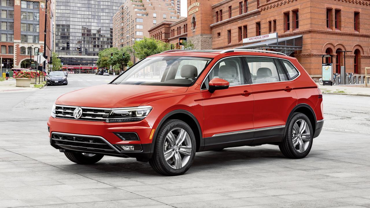2017 VW Tiguan Allspace Amerikan Versiyon Resim Galerisi