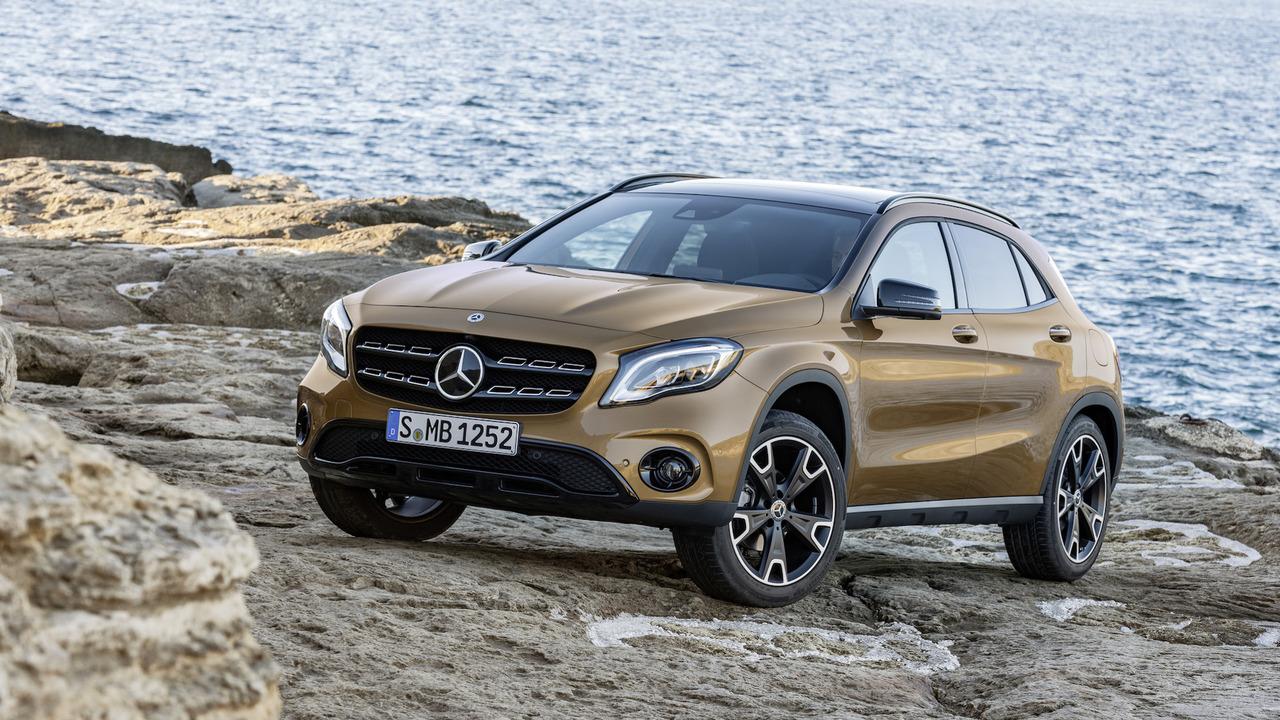 2017 Mercedes GLA Resim Galerisi