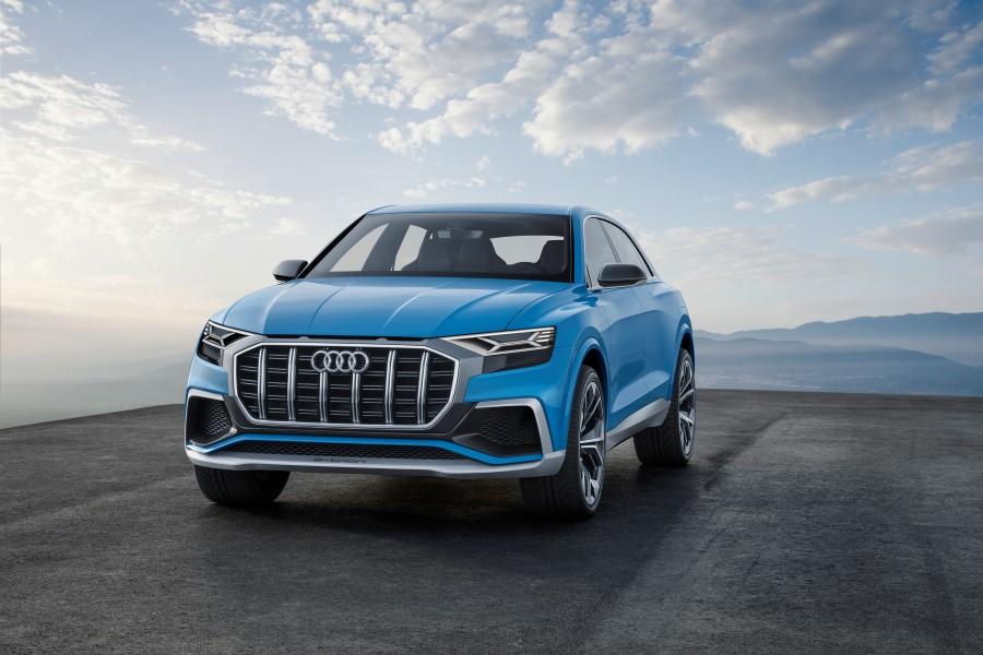 Audi Q8 konsept resim galerisi