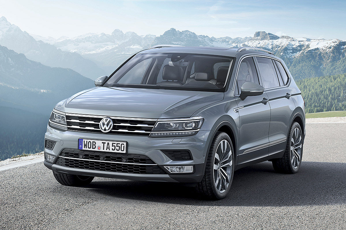 2017 vw tiguan allspace avrupa resim galerisi. Black Bedroom Furniture Sets. Home Design Ideas