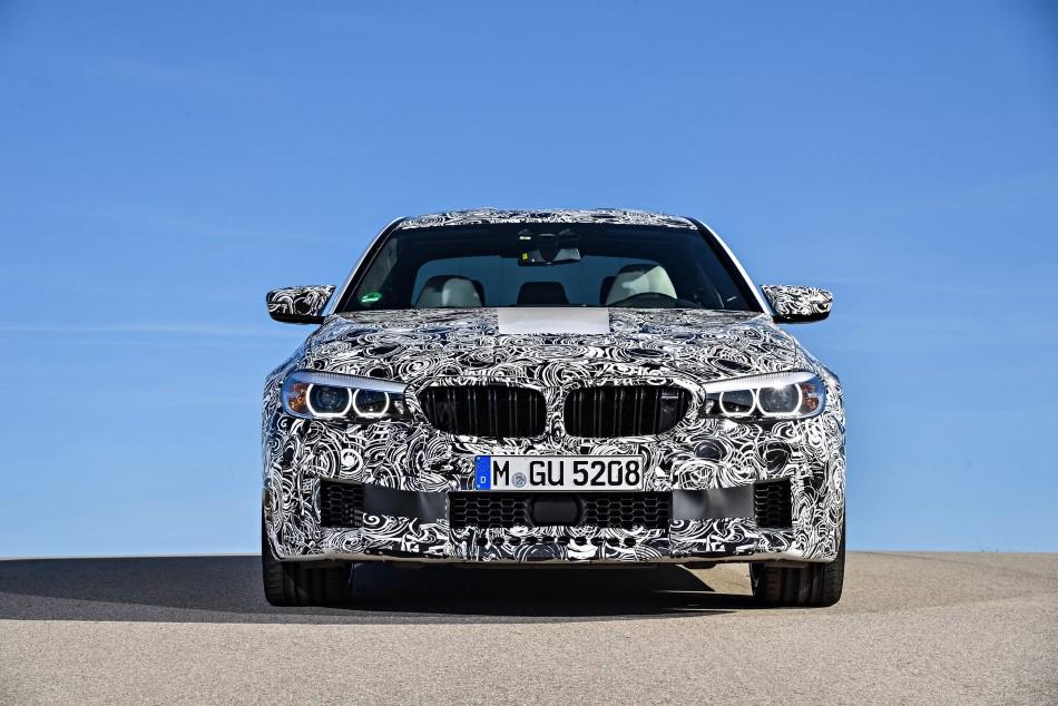 2018 BMW M5 resim galerisi