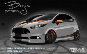 ford fiesta 2012 upgrades with Ford Fiesta Sema Icin Modifiye Edilen Resim Galerisi on 2012 Sema Ford Focus Cosworth Cs330 Live Photos 51272 moreover 1997 1998 Ford F150 2wd Lower Bumper Black Aluminum Billet Grille Aps F85039h P 496455 additionally Showflat also Ford Pondering Fancypants Vignale Trim For Fusion 2014 Geneva Auto Show additionally Tbi 350 Upgrades.